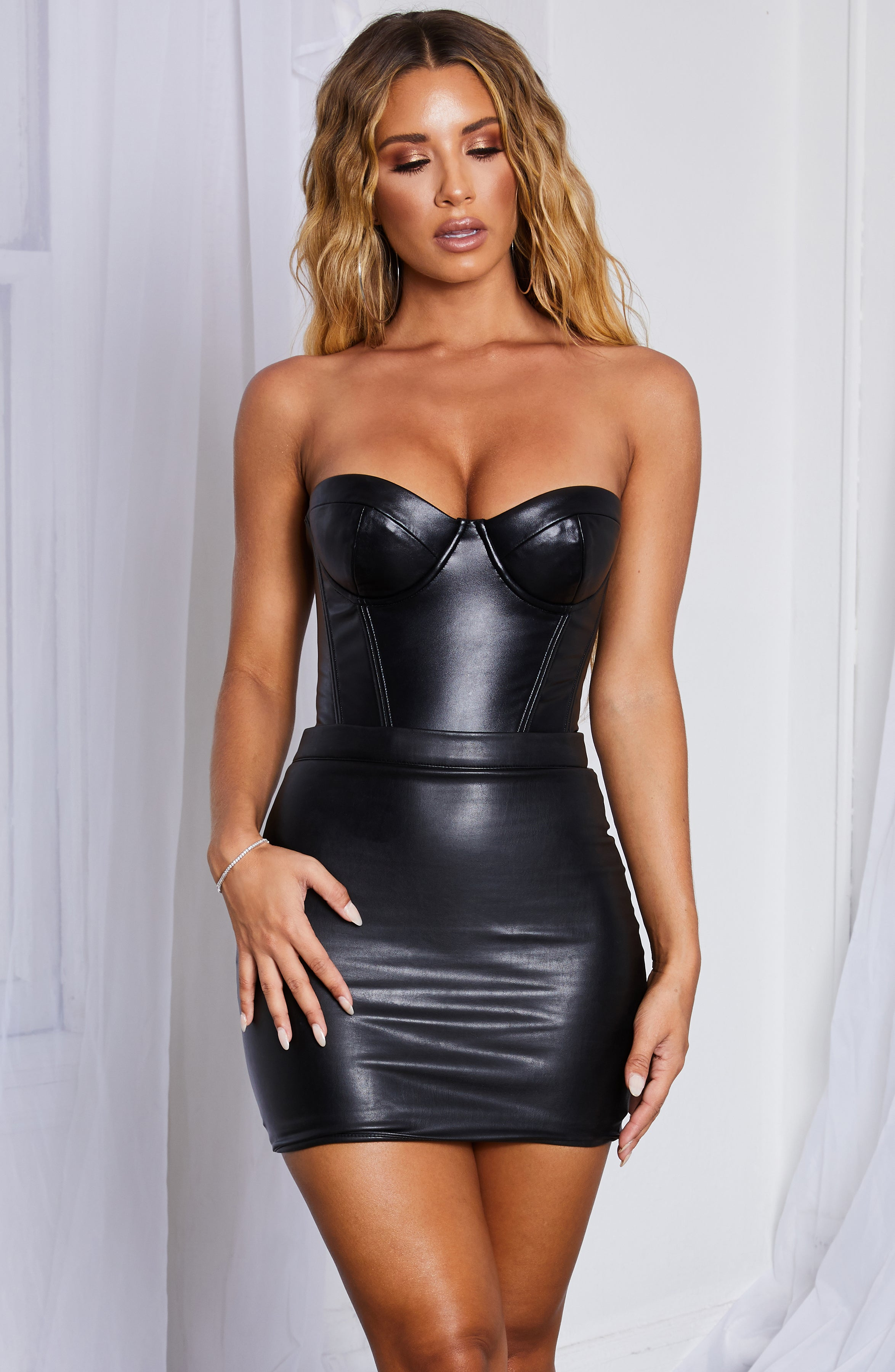 Sky Bodysuit - Black