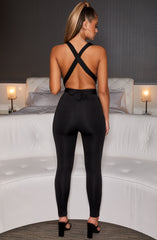 Luxe Life Jumpsuit - Black