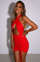 Margarita Mini Dress - Red