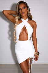 Margarita Mini Dress - White