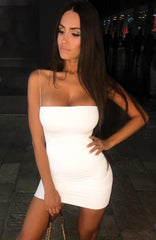 Mia Mini Dress - White