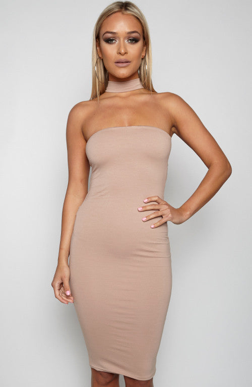 Good For You Dress - Tan