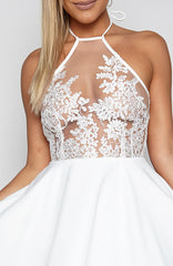 Night Ahead Dress - White