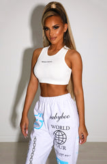 Molly Crop - White