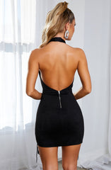 Monique Mini Dress - Black