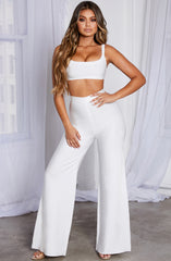 Raven Bandage Pants - White