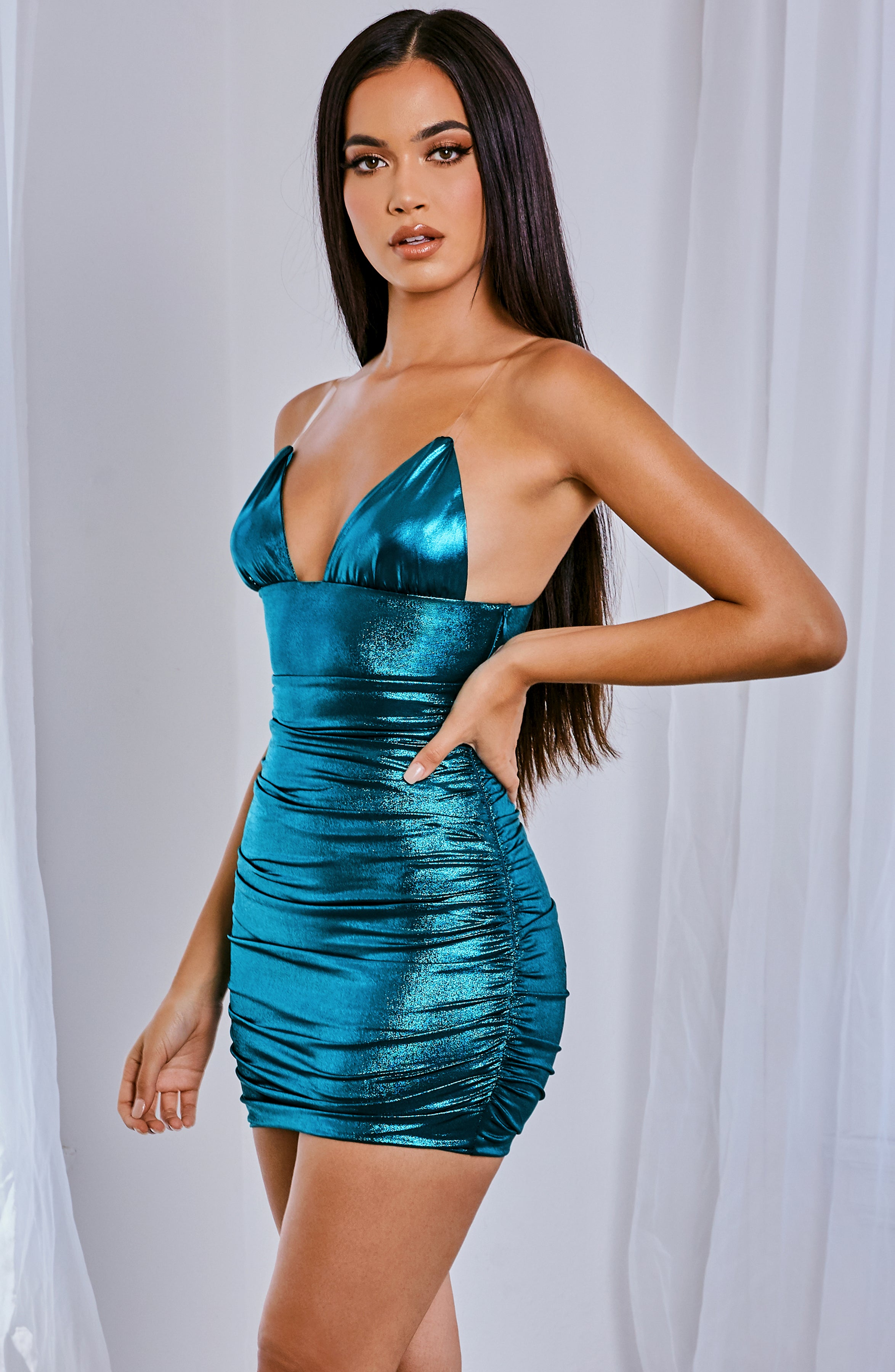 Nikita Mini Dress - Emerald
