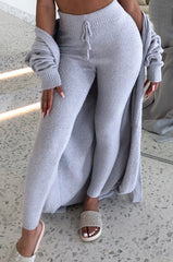 Bree Cozy Pants - Grey