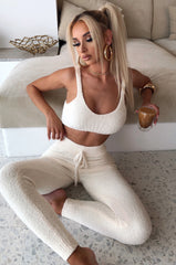 Bree Cozy Pants - Cream