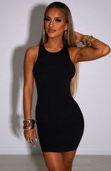 Raya Mini Dress - Black