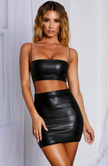 Rebel Mini Skirt - Black