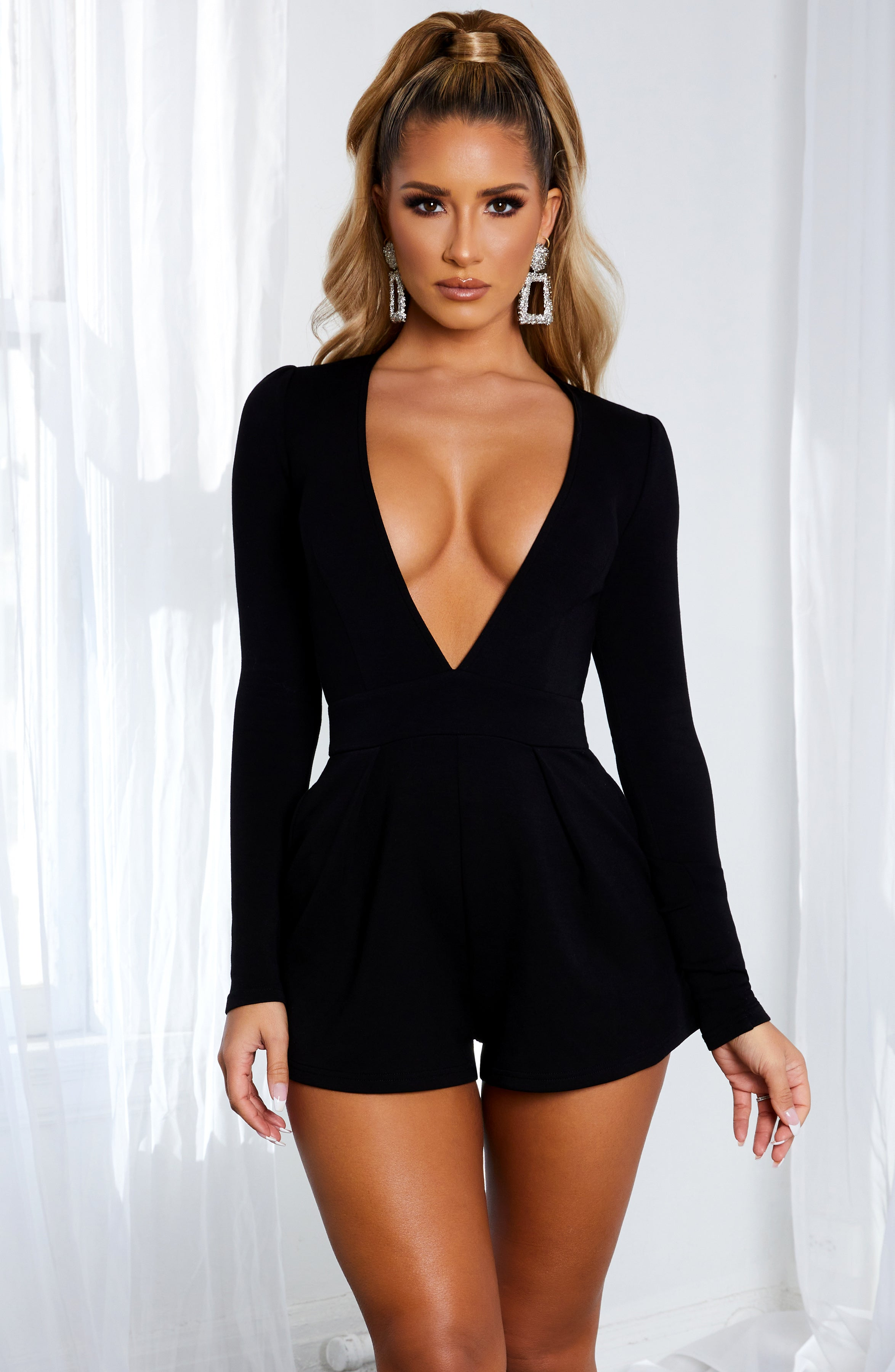 Retrospect playsuit - Black