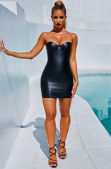 Roxanna Mini Dress - Black