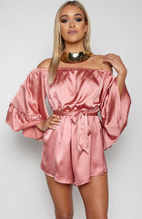 Pillow Talk Playsuit - Dusty Pink