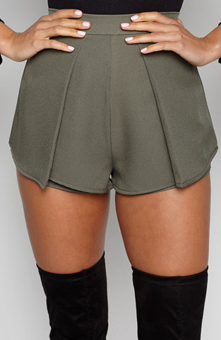 Luxury Life Shorts - Khaki