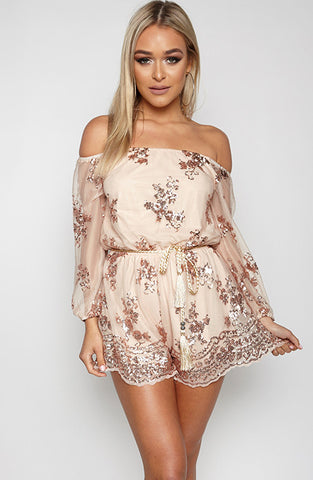 Cosmopolitan Playsuit - Gold