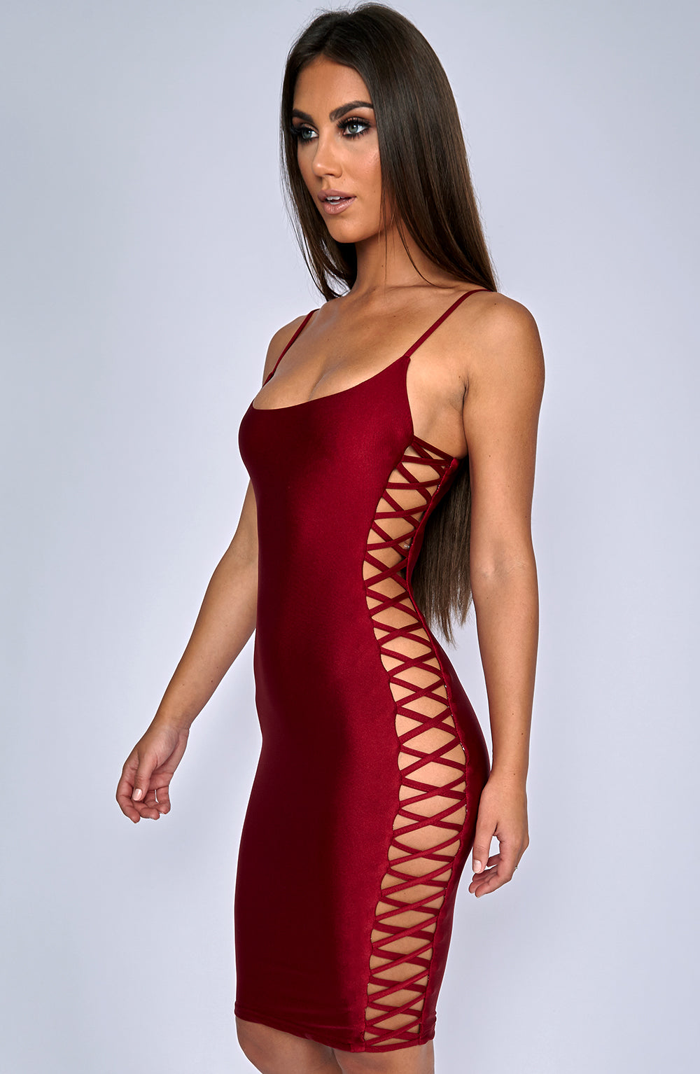 Pure Temptation Dress - Wine