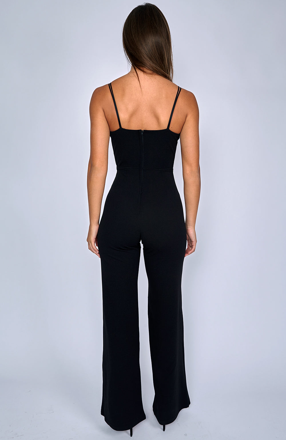 Bow Down Jumpsuit - Black