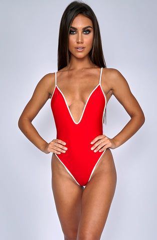 It Girl Onepiece - Red