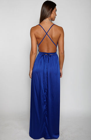 Lita Maxi Dress - Royal Blue