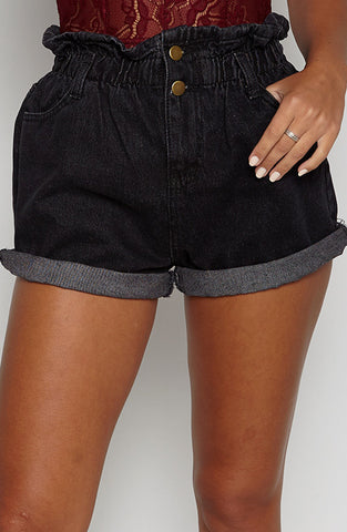 How you Doin Shorts - Black