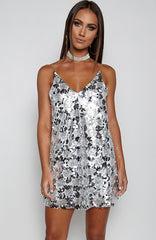 So Kendall Dress - Silver