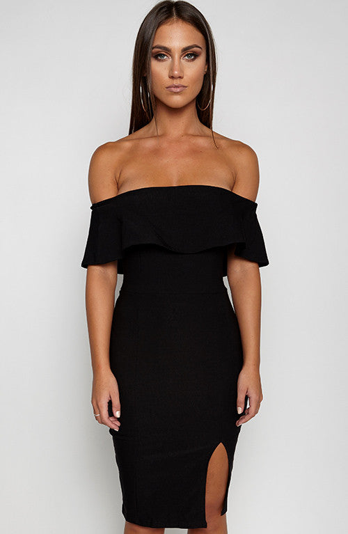 Beats Me Dress - Black