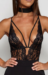 High Road Lingerie Onepiece - Black
