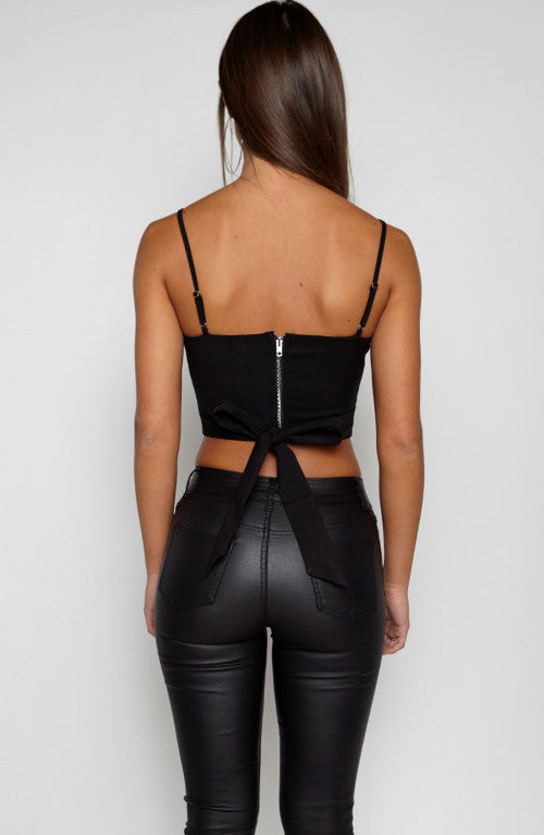 Two Way Top - Black