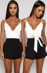 Two Way Top - White