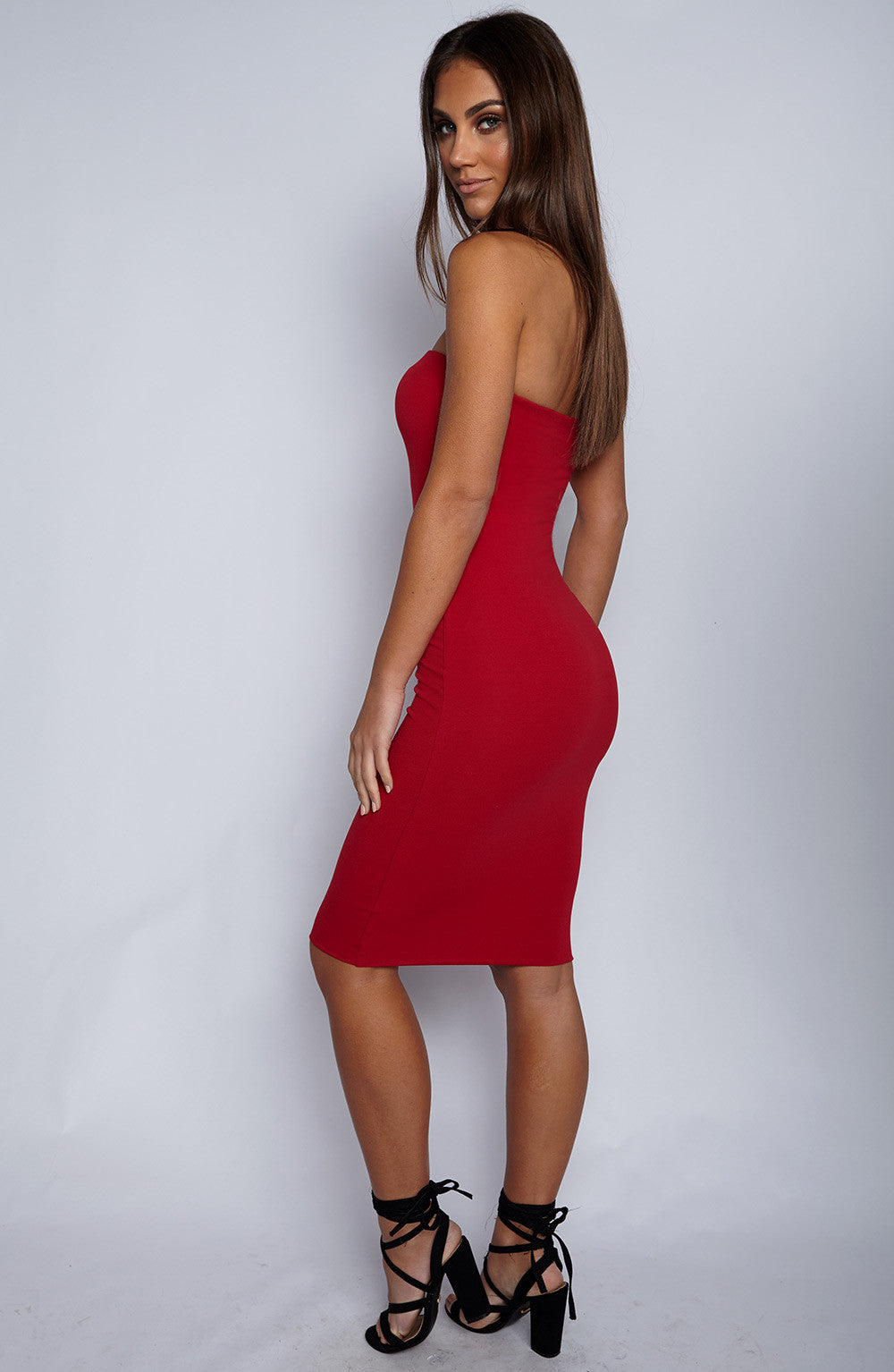 Zaria Dress - Red