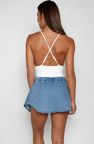 Denim Baby Shorts - Blue