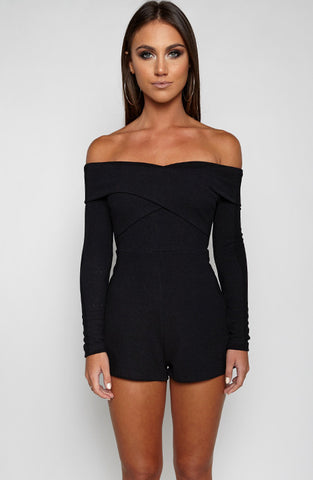 Mara Playsuit - Black