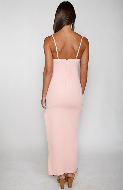 Fair Game Maxi Dress - Pink