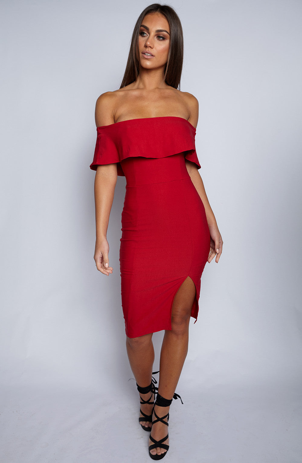 Beats Me Dress - Red
