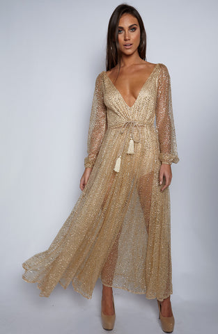 Dolce Lita Dress - Gold