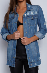 Thats Hot Jacket - Blue Denim
