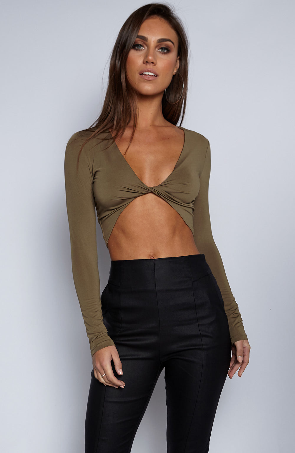 No Control Top - Khaki