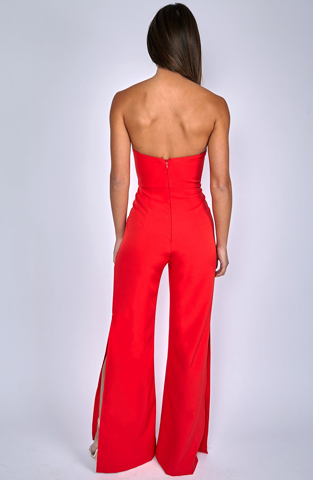Rebel Heart Jumpsuit - Red