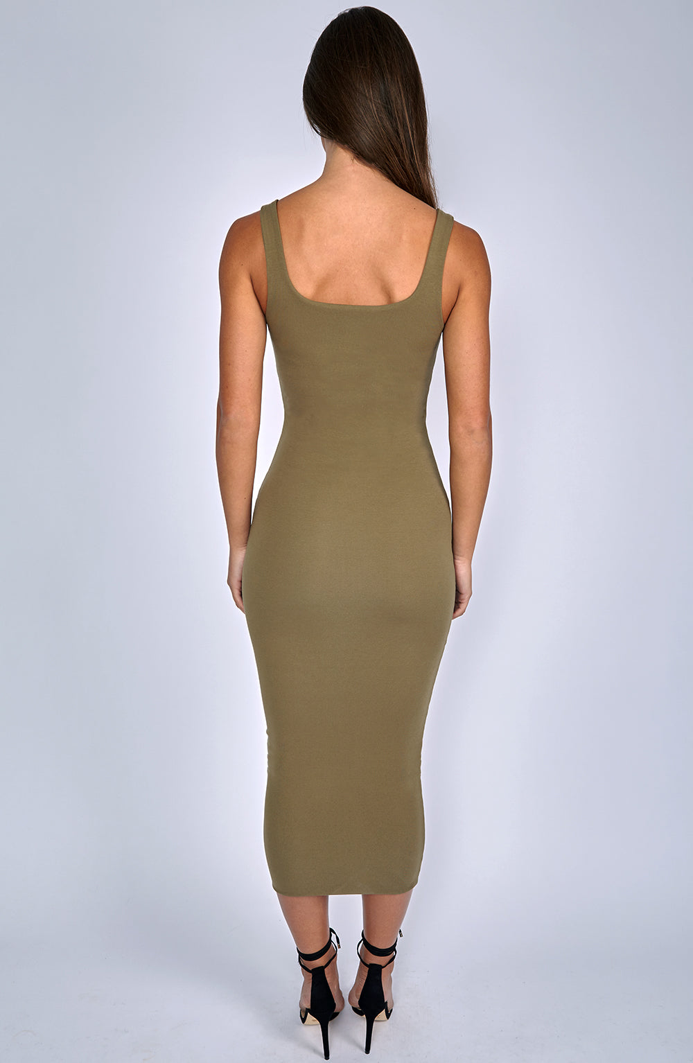 Basic Bish Dress - Khaki