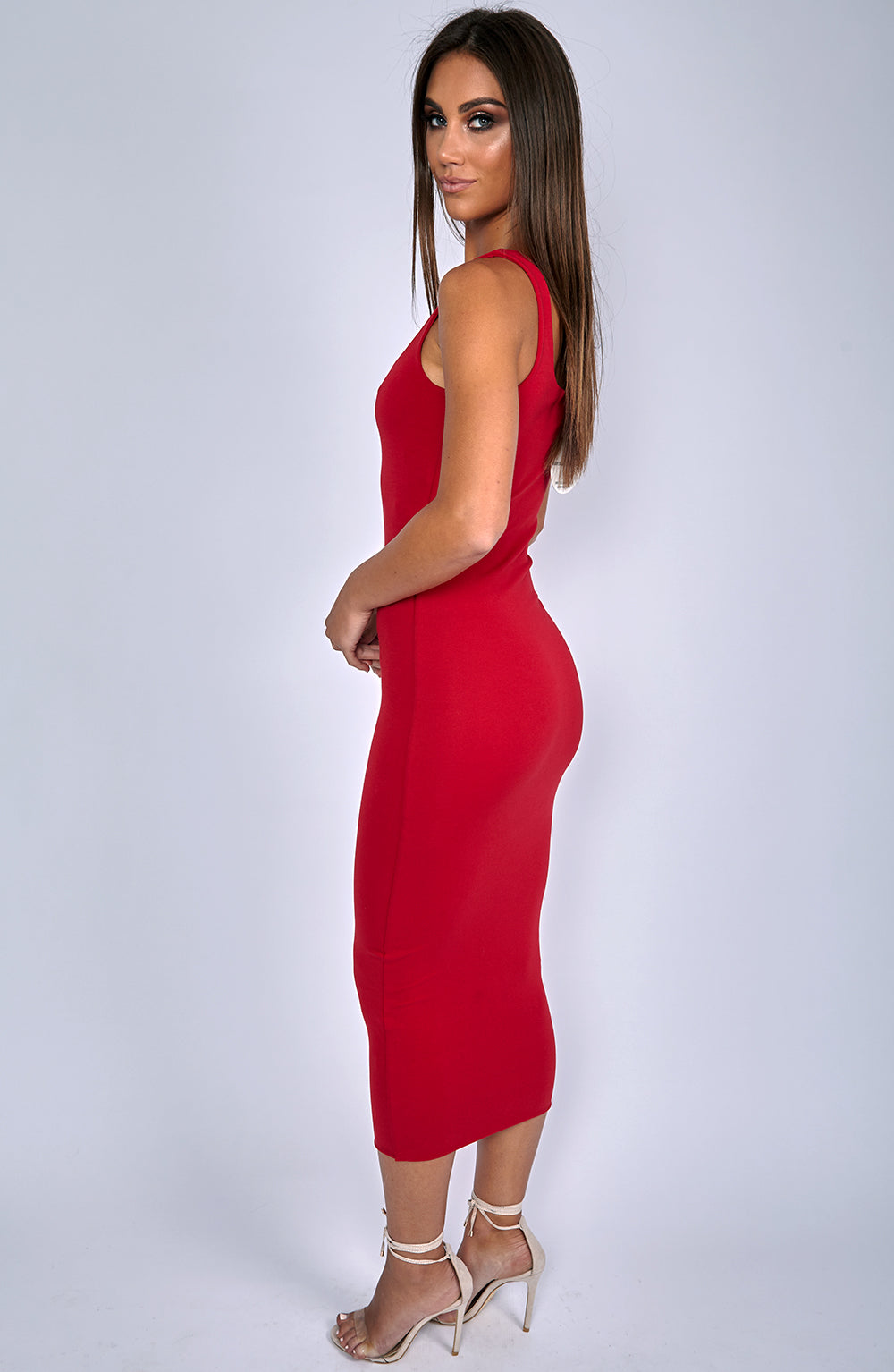 Basic Bish Dress - Red