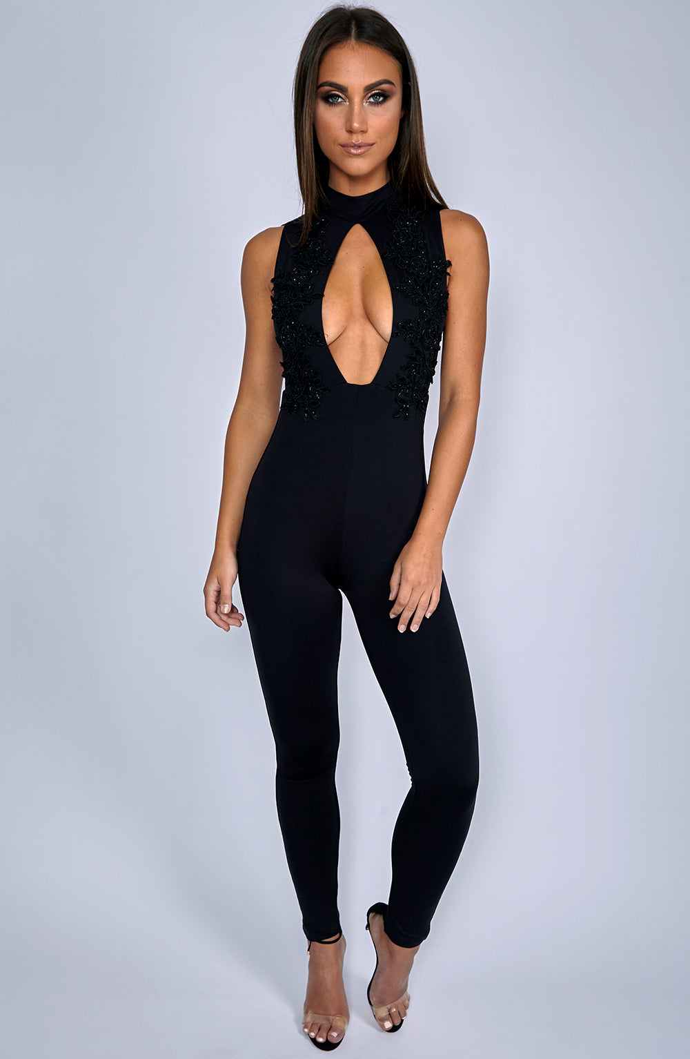 Take It Or Leave It Jumpsuit - Black