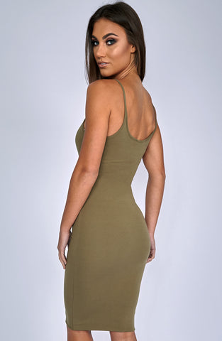 Zaphire Dress - Khaki