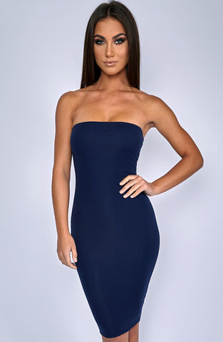 Zaria Dress - Navy