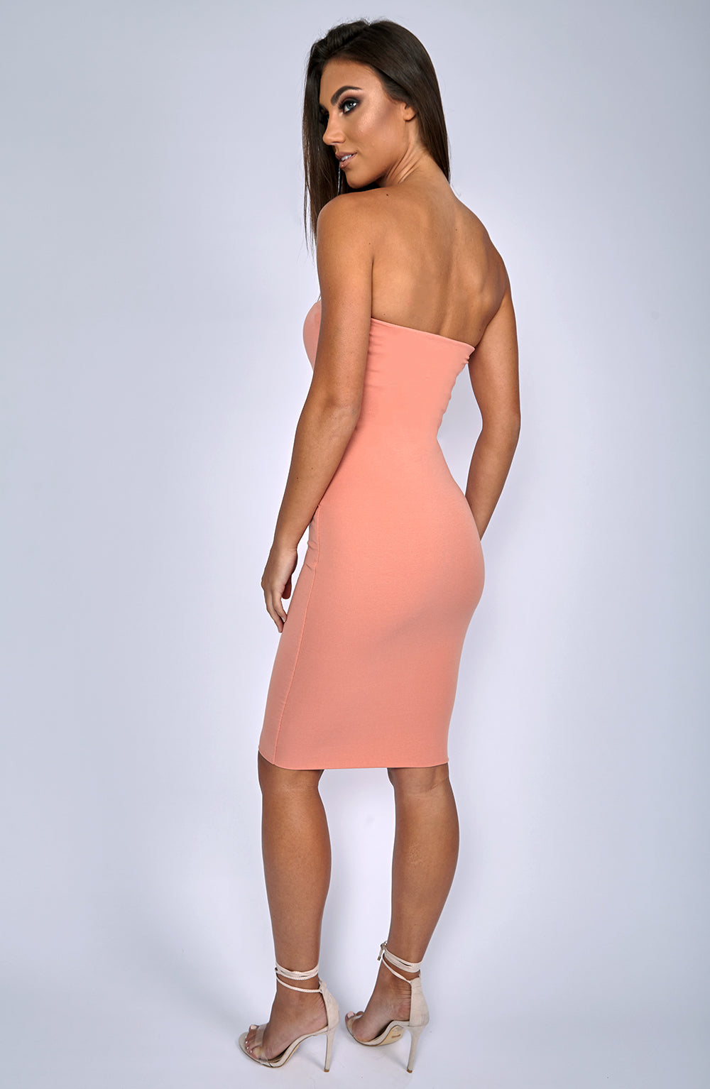 Zaria Dress - Peach