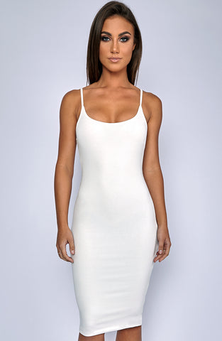 Zaphire Dress - White
