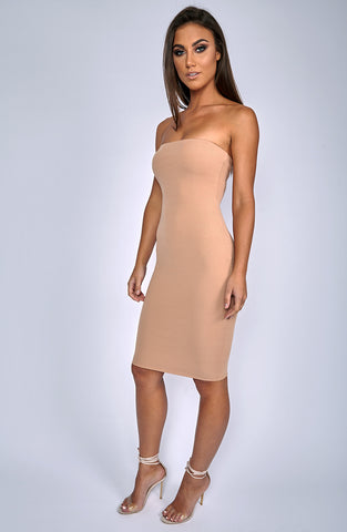 Zaria Dress - Camel