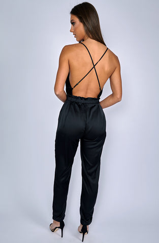 Scarlett Jumpsuit - Black