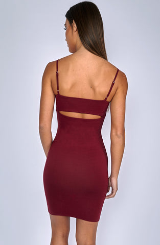 Ultimate Dress - Burgundy