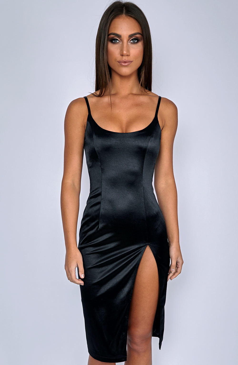 Forbidden Romance Dress - Black